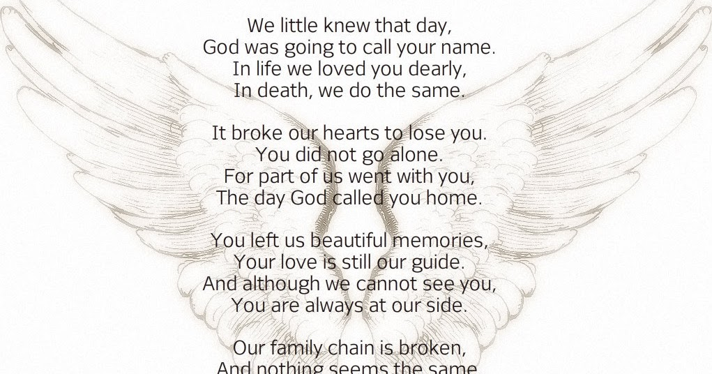 Zach S Friends The Broken Chain Poem