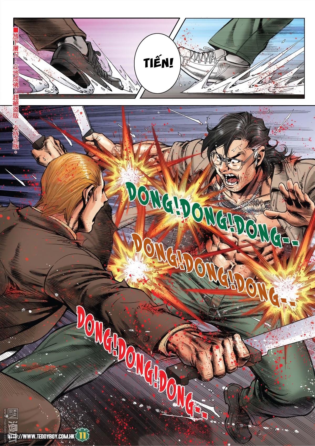 Người Trong Giang Hồ chapter 2033: kim tôn quý vs đại phi trang 8