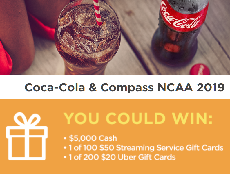 Coca-Cola Hoops Instant Win Giveaway - 300 Winners Win a $20 Uber