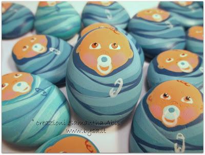 Idee originali  per bomboniere bebè