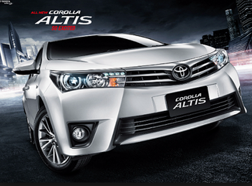 Toyota Altis 2015: New City Sedan for Toyota