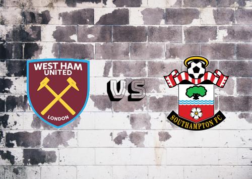 West Ham United vs Southampton  Resumen