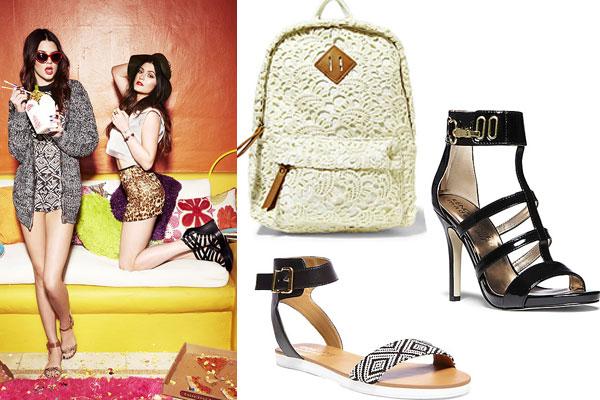 kardashian jenner kim kardashian kylie+kendall collection kylie tumblr fashion's obsessions zairadurso fashion blog trend new collection shoes backpack