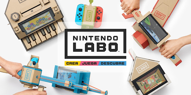 Nintendo Switch nos sorprenderá con más detalles como Nintendo Labo