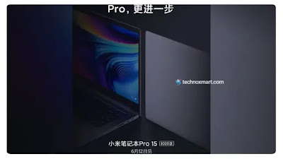 Mi Notebook Pro 15 2020 Is Tips To Launch On June 12: Xiaomi Announces