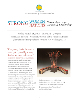 Strong Women/Strong Nations| Native American Women & Leadership Program PDF. Courtesy of the National Museum of the American Indian.