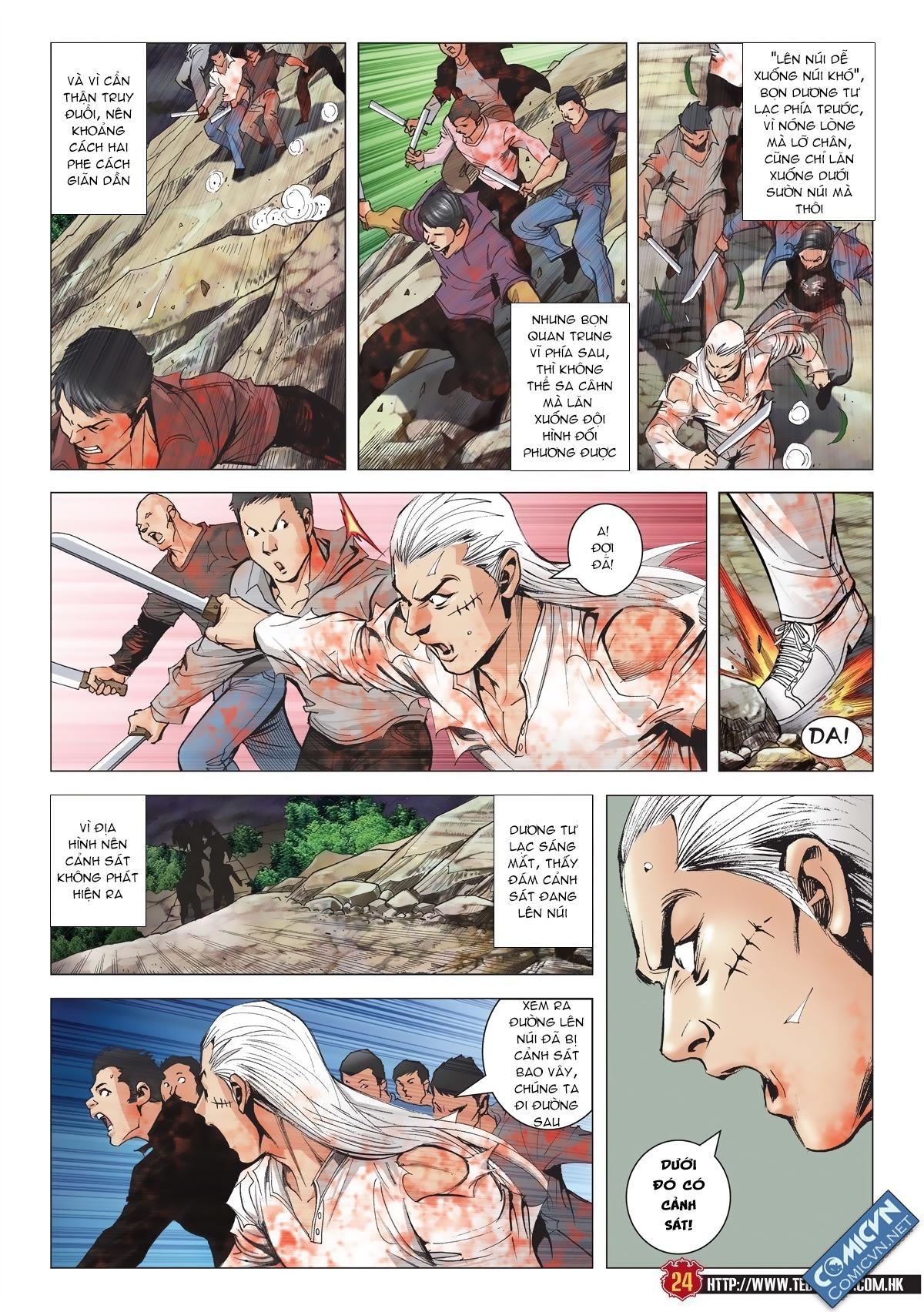 Người Trong Giang Hồ chapter 1986: chạy trang 22