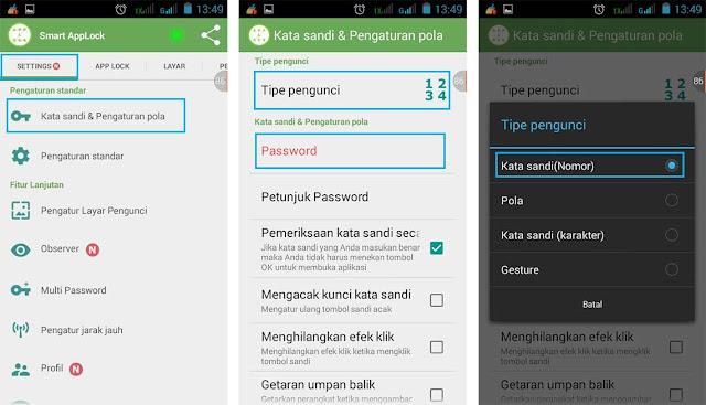 Menyembunyikan Aplikasi BBM Dengan Smart AppLock