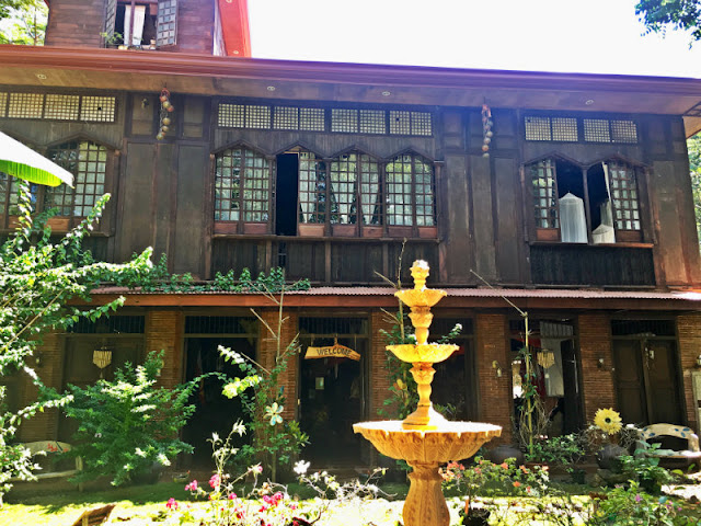 kampojuan Heritage House of Don Acosta in Dicklum, Manolo Fortich, Bukidnon