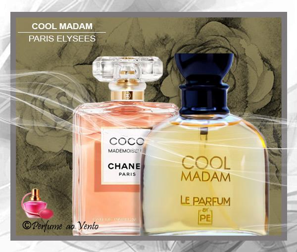 Perfume COOL MADAM Paris Elysees, Contratipo do Perfume COCO MADEMOISELLE