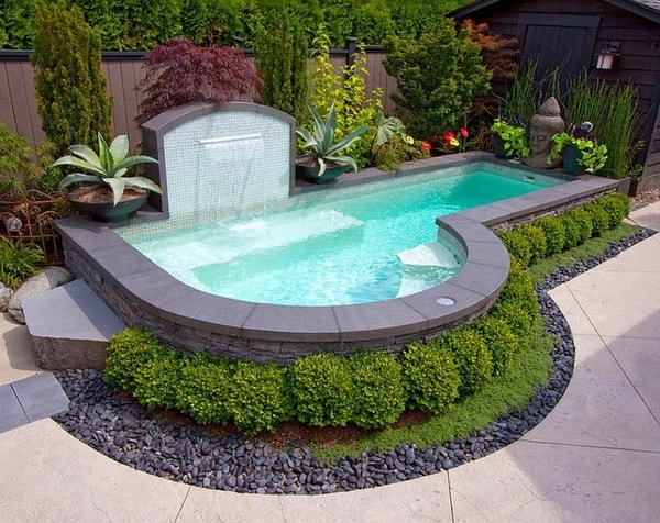 Pools For Small Yards Satisfying Eyes Pool Designs
