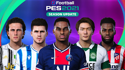 PES 2021 New Facepack for PES 2020