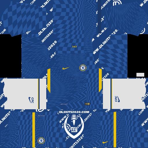 Chelsea Kits 2021-2022 Nike - Dream League Soccer 19 Kits (Home)