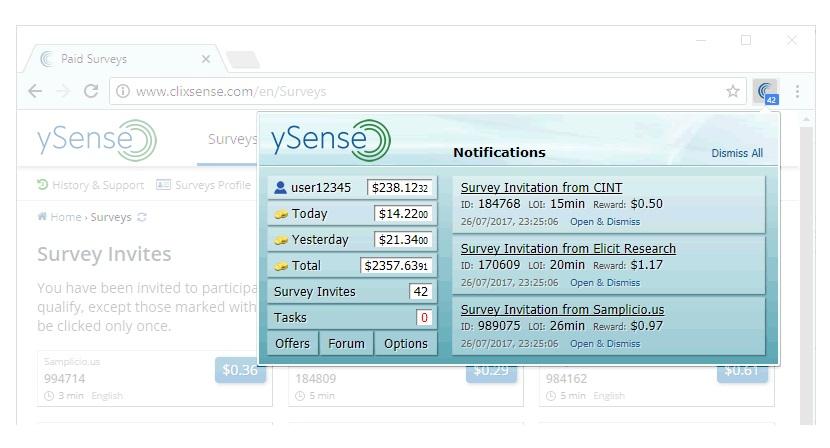 App de ySense