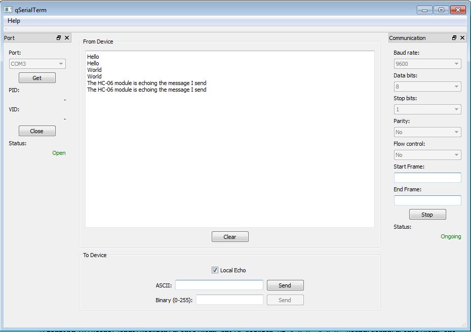 Embedded Programmer: qSerialTerm: A Qt-based serial port