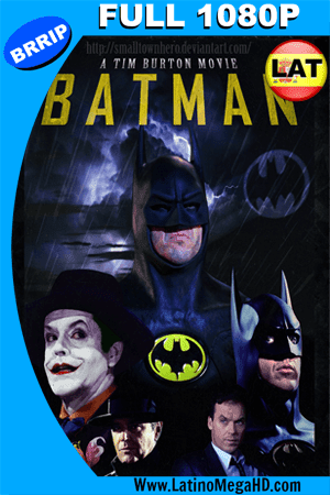 Batman (1989) Latino Full HD 1080P ()