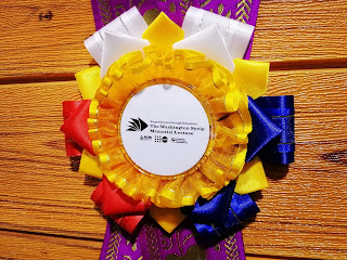Philippine-inspired Rosette Ribbon Leis for Keynote Speakers during the Washington Sycip Memorial Lecture