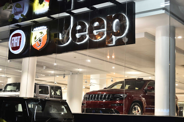 Fiat, Abarth and Jeep Vehicles under One Roof