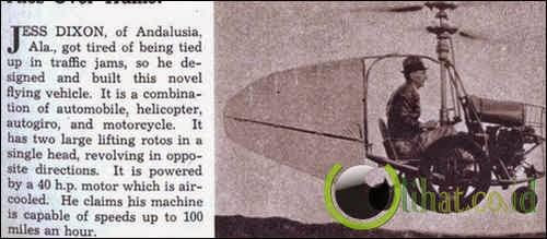 Jess Dixon's Flying Auto