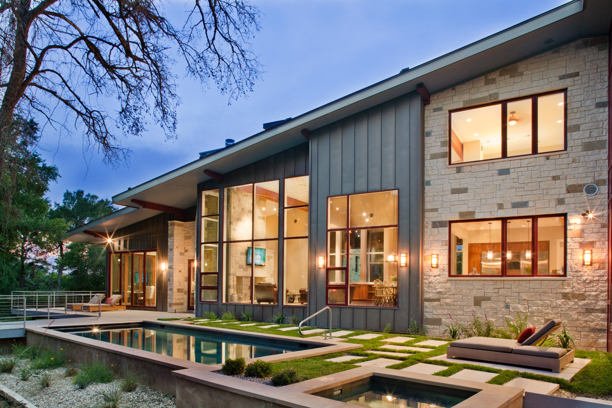 World of Architecture: Contemporary Moody Ranch House by ...
