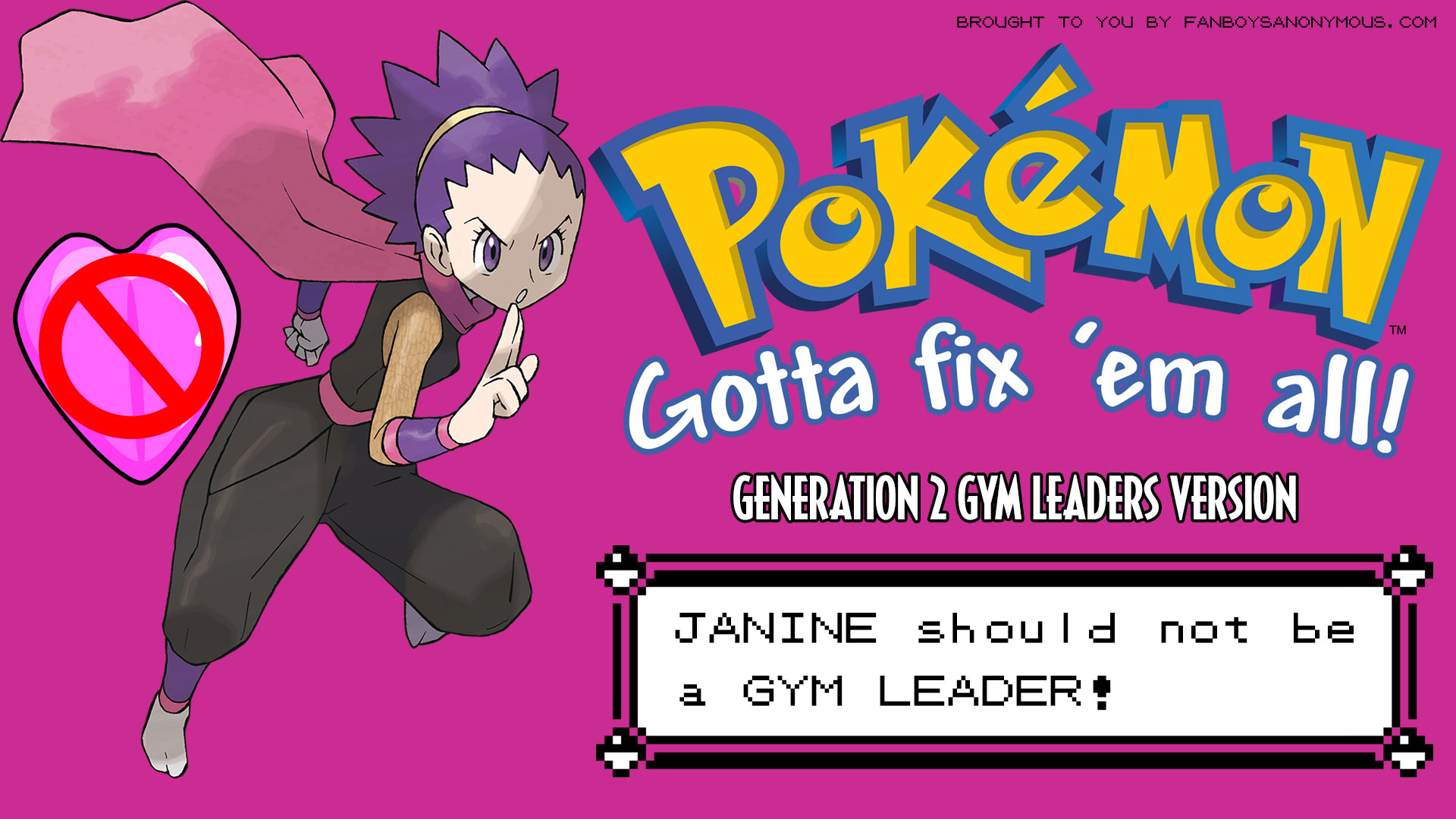 Janine Pokemon Gen 2 gym leader soul badge