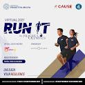 Virtual Run It by Prasmul Olympics • 2021
