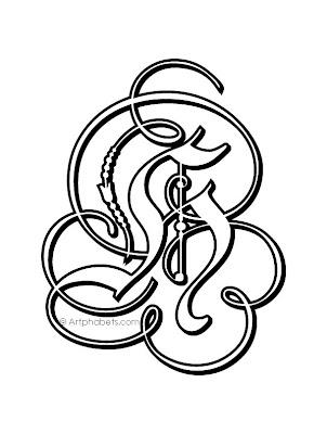 Agape-Net: Letter tattoos