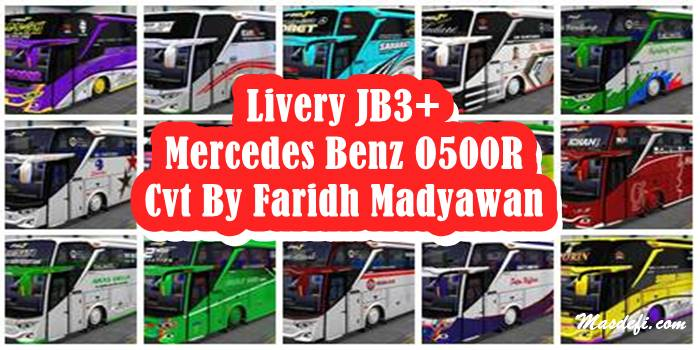 Livery JB3+ Mercedes Benz O500R