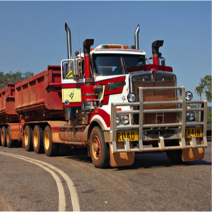 Australian trucker trucking industry facts