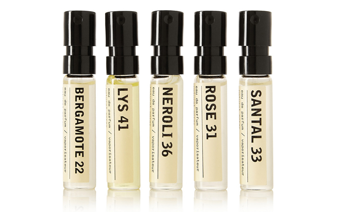 Le Labo Rose, Neroli, Lyst, Bergamot perfume samples and where to buy via www.fashionedbylove.co.uk