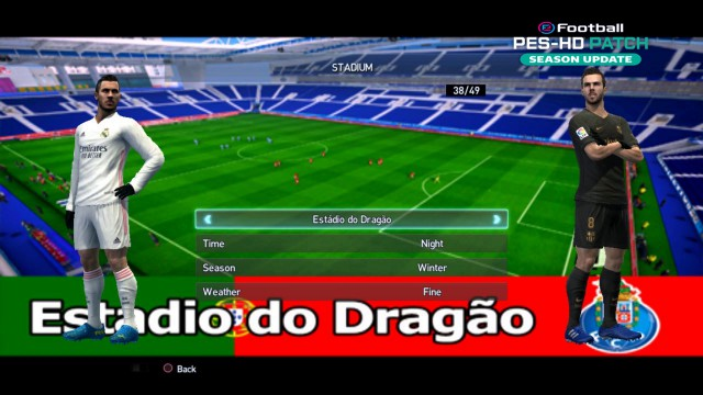 pes 2013 hd patch Add New Stadumis