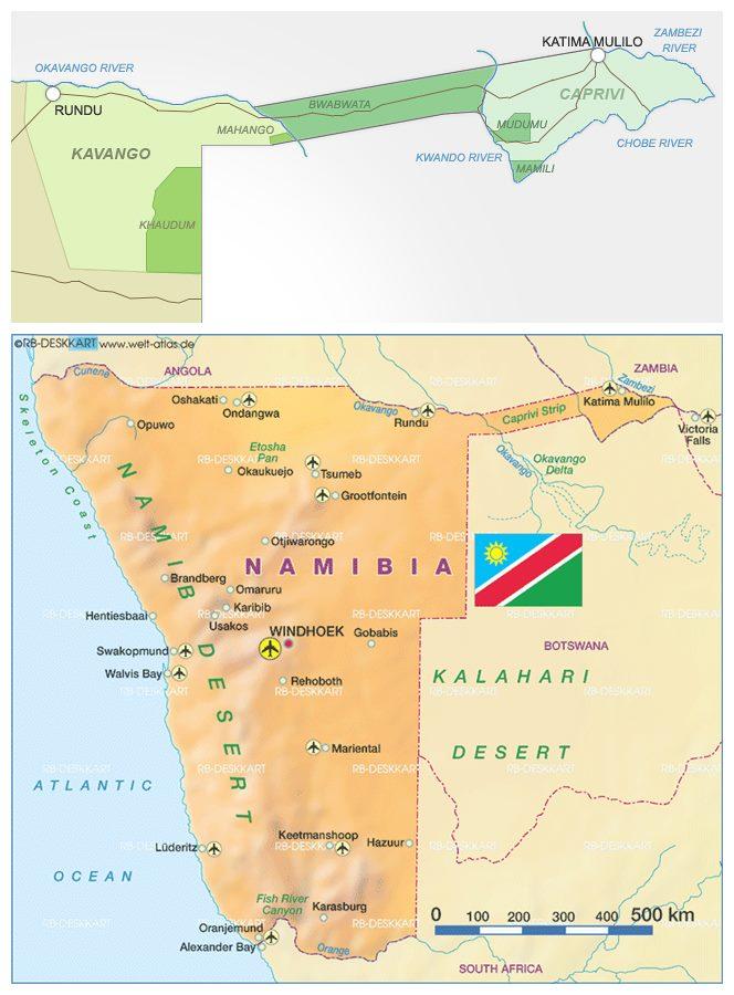 Explorando a FAIXA DE CAPRIVI, entalada entre a Namíbia e Angola | Namíbia
