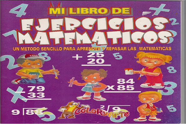 sumas,restas,multiplicaciones,divisiones,primaria