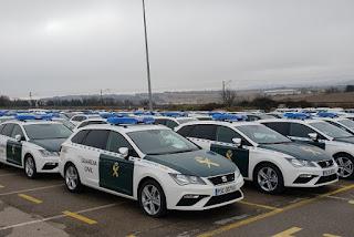 La Guardia Civil y la Ertzaintza sí apuestan por el diésel