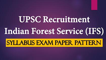 IFS 2021 Syllabus Exam Paper Pattern