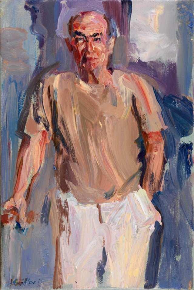 Греческий художник. Andreas Kontellis