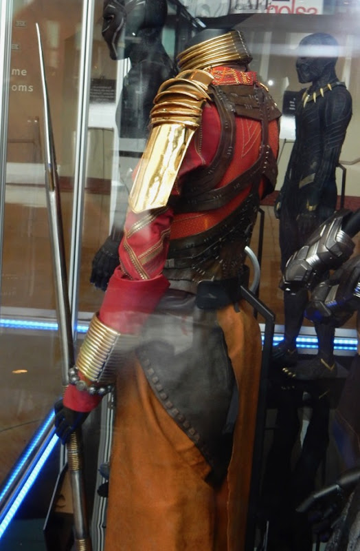 Okoye Black Panther costume detail