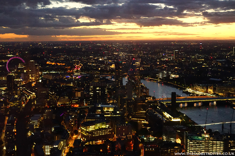 London Skyline from the Shard