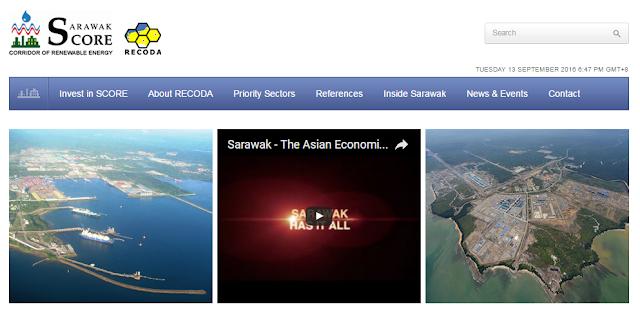 Rasmi - Jawatan Kosong (SCORE) Sarawak Corridor of Renewable Energy Terkini 2019