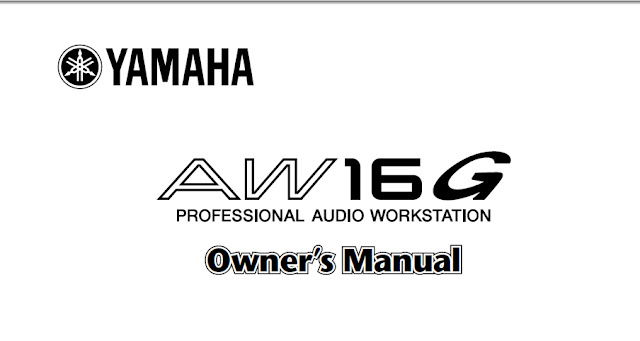 Yamaha AW16G Manual