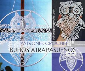 Patrones de Atrapasueños diseño de Búho