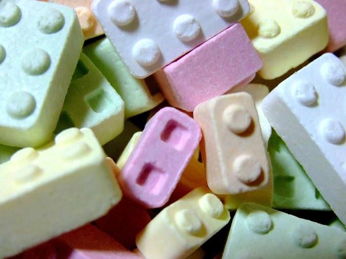 064 #かわいい #お菓子 #ラムネ菓子 #ブロック