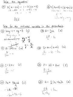 Printables Literal Equations Worksheet literal equations worksheets davezan solving with fractions worksheet kuta radical