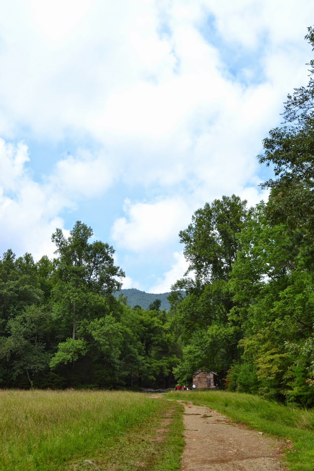 John Oliver House Hike in Cades Cove