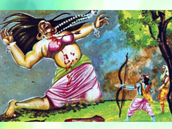 Ramayana Chapter 4-Rama and daemons