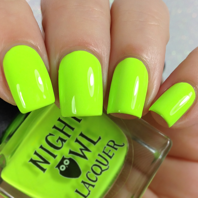 Night Owl Lacquer-Radioactive