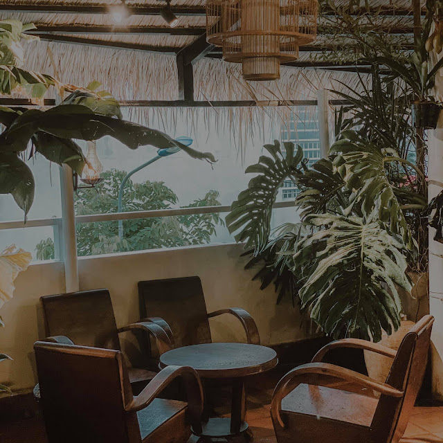 Cà phê Rooftop tại Sa Đéc