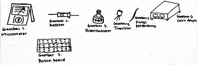 Laporan Praktikum Karakteristik Transistor