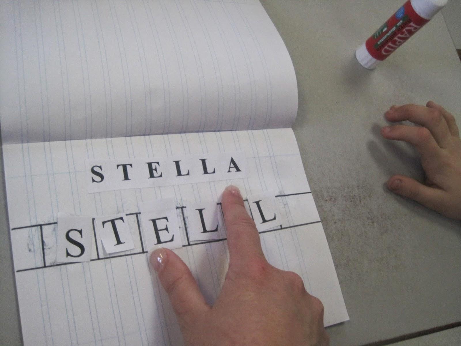 Lectoescritura - Aprendiendo a escribir mi nombre