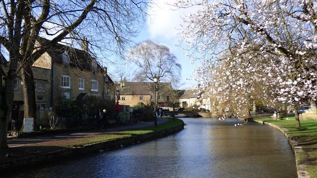 The River Windrush in Bourton-on-the-water - Cotswolds
